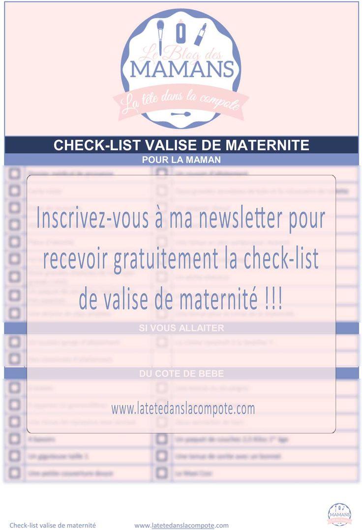 valise de maternite, ce qu'il faut dans valise maternite, quand preparer valise maternite, valise bébé maman, liste valise maternité