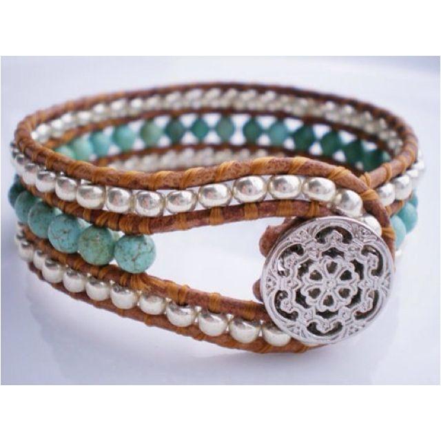 .Wraps Bracelets, Beads Bracelets, Single Leather, Style, Leather Wraps, Leather Cuffs, Jewelry, Wraps Cuffs, Leather Bracelets