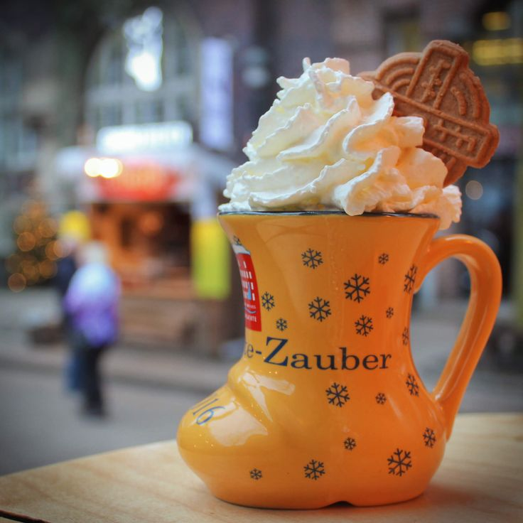 Delicious Eierpunsch is the German version of Eggnog. Frankly, it's what eggnog wishes it could be when it grows up. It's best served hot and piping in a Medieval Christmas Market like the one in Bremen, Germany!