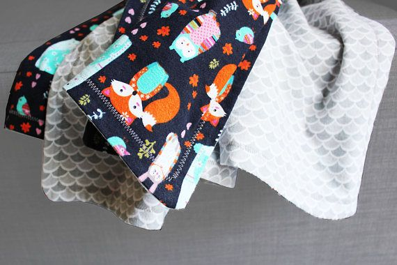 The Good Mood Factory_ Large Baby and Kids Warm Cotton Flannel Blanket_ Handmade