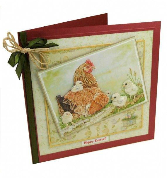 Jayne Netley Mayhew Spring Decoupage - Card 3