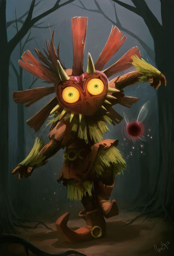 87 best Loz: Majora's Mask images on Pinterest