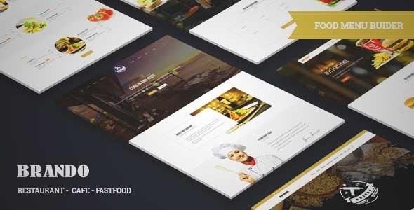 Download and review of Brando - Restaurant/Cafe/Food Responsive WordPress Theme & Food Menu Builder, one of the best Themeforest Entertainment themes {Download & review at|Review and download at} {|-> }http://best-wordpress-theme.net/brando-restaurant-cafe-food-responsive-food-menu-builder-download-review/
