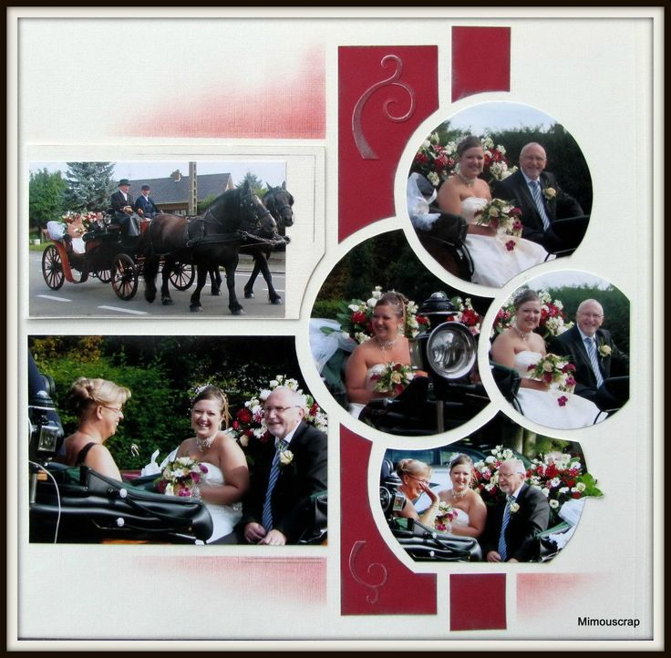 Super 207 best Scrap mariage images on Pinterest | Scrapbook layouts  XK37