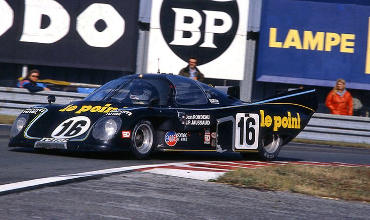 Rondeau M379B A local in his own car beating the might of Porsche: Le Mans stories don't get much better. Jean Rondeau, helped in no small way by Jean-Pierre Jaussaud, led his team to a popular win in 1980. Rondeau's untimely death on a railway crossing only adds to the mystique