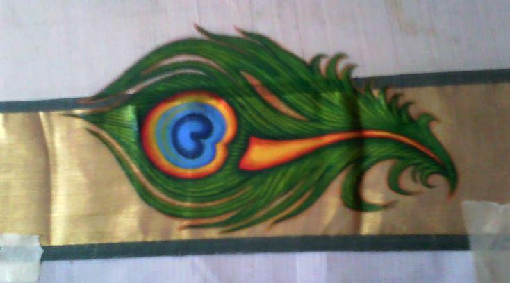 Work on saree