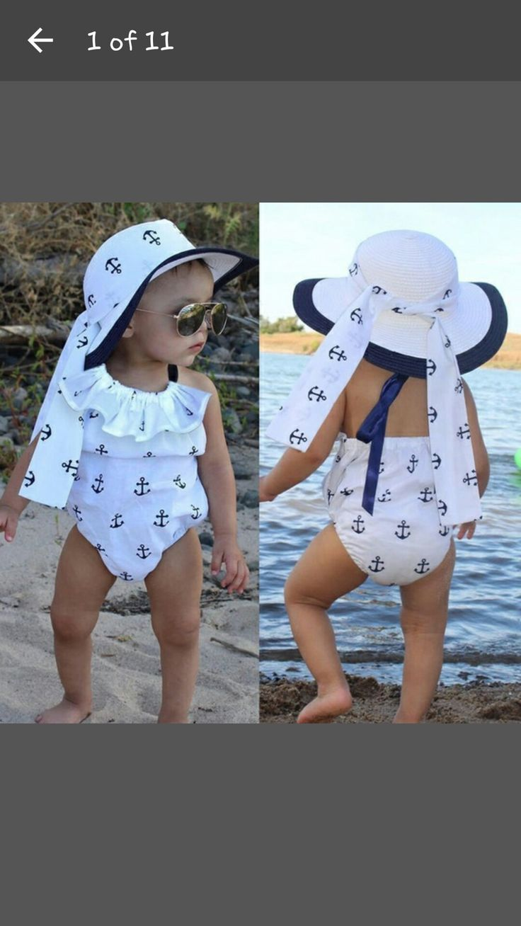 Cute little girl swimsuit from Wish.com