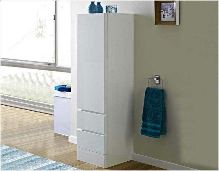 Die besten 25+ weiß vanity Badezimmer Ideen auf Pinterest Weiße - badezimmer wandschrank