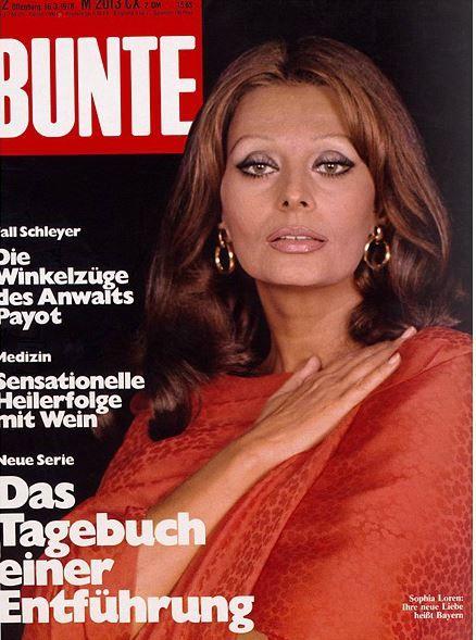 1978: Sofia Loren