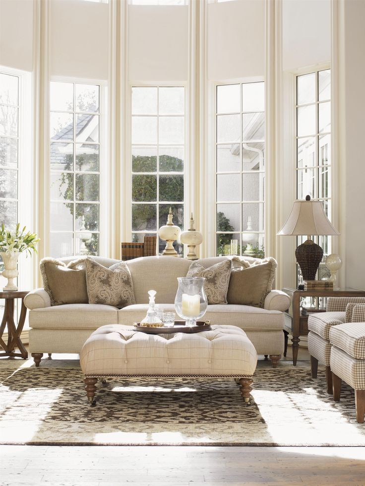 Taking a classic silhouette and streamlining the design for a new interpretation of timeless, this sofa offers the perfect balance of formal fashion and casual relaxation perfect for any entertainment area in your home