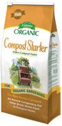 Compost Starter is a 100% bio-organic mix that contains microbes cultured for fast, healthy composting. Includes heat active varieties, used to speed the decomposition of difficult material.