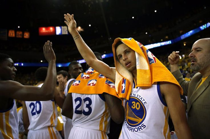 Sources: Curry will be named MVP  Golden State Warriors' Stephen Curry celebrates after Warriors' 101-86 win over Memphis Grizzlies during Game 1 of NBA Playoffs' Western Conference Semifinals in Oakland, Calif., on Sunday, May 3, 2015. Photo: Scott Strazzante, The Chronicle
