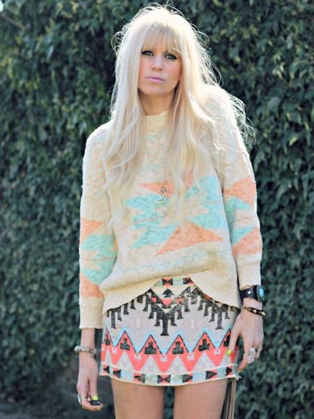 Double aztec: Fashion Street Styles, Clothes, Fashion Baby, Street Style Fashion, Fashion Trends, Aztec Jumper, Aztec Patterns