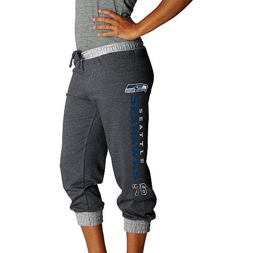 Women's Seattle Seahawks Sport Princess Cropped Pant - NFLShop.com