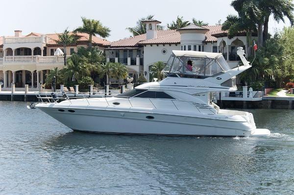 2001 Sea Ray 400 Sedan Bridge boat for sale