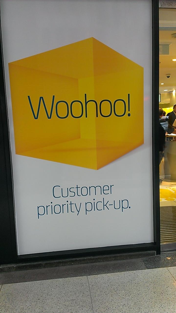 Customer priority pick up event - September 2012