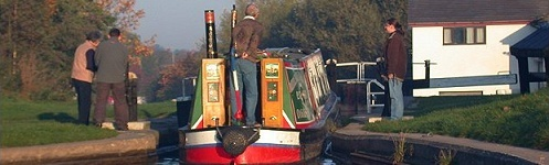 I'd like to travel on a canal boat.