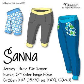 Jersey-Hose Sanna für Frauen by Sophie Kääriäinen