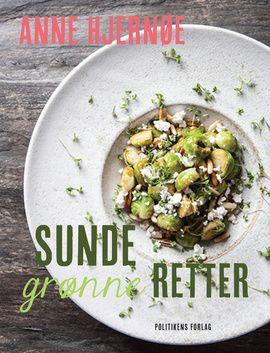 I Sunde grønne retter får du hjælp til selv at skrue op for det grønne og det sunde i dit eget køkken. Bogens opskrifter repræsenterer den mad, som Anne Hjernøe og hendes familie spiser til hverdag, og når de har gæster. Det er mad, der er lavet af sunde, gode, rene og ærlige  råvarer, og hvor det grønne altid er i centrum.
