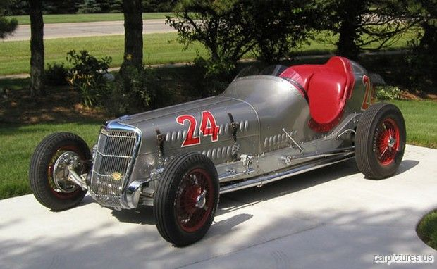 1935 Welch Ford Special Two-Man Indianapolis Racing Car