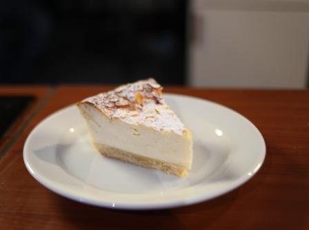 миндальный торт с рикоттой