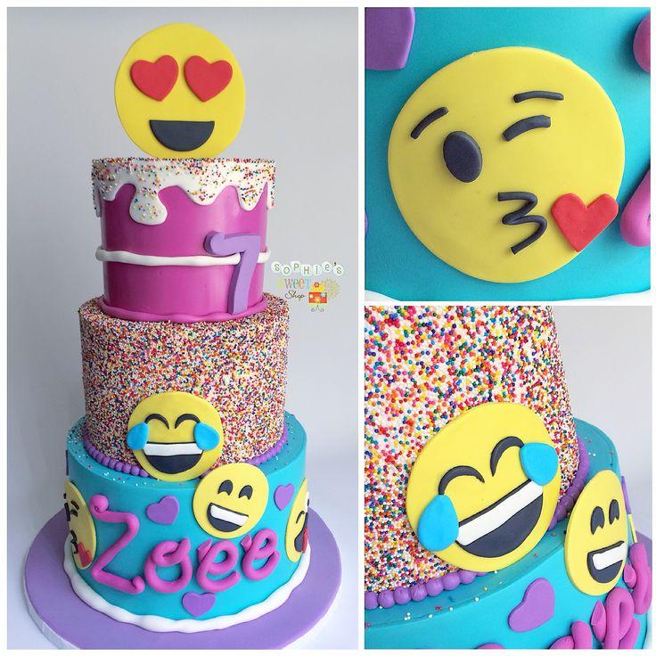 Cake Designs Emoji : The 25+ best Emoji cake ideas on Pinterest Birthday cake ...