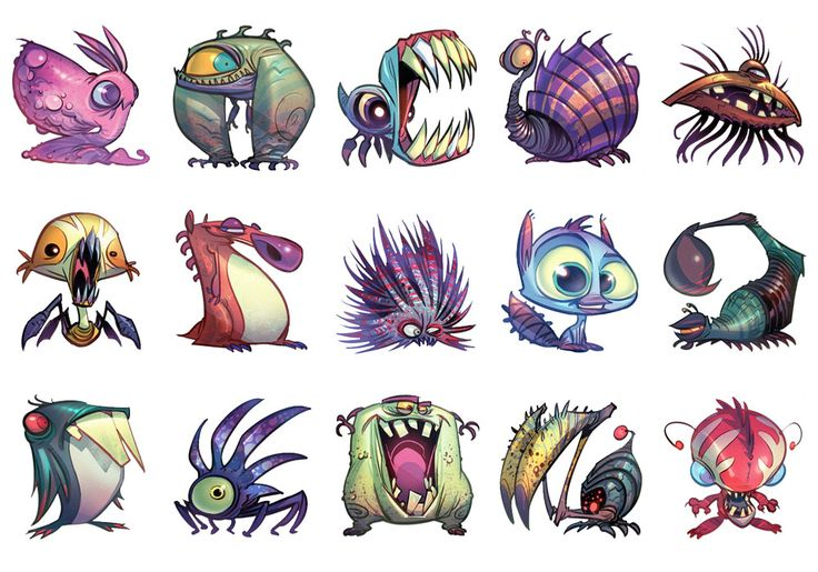 Creatures from Ratchet & Clank: All 4 One