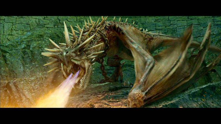 8. Dezelfde dag nog gaat Harry naar Hagrid. Hagrid laat Harry zien dat de eerste opdracht van het tovertornooi, vechten met draken is. Elke deelnemer moet zijn eigen gouden ei bemachtigen bij een andere draak. Gelukkig slaagt hij erin om het ei te bemachtigen en zo wint Harry de eerste opdracht.