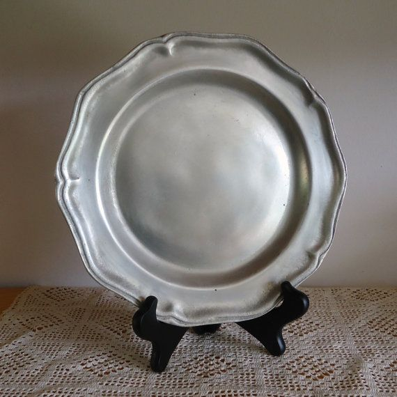 Antique Pewter Wilton Pewter. pewter pewter plate by RaggedyRee $12.00 & 9 best Pewter images on Pinterest | Antique pewter Primitive decor ...
