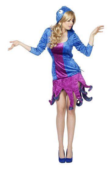 Kostuum Octopus Dames - De Kaborij