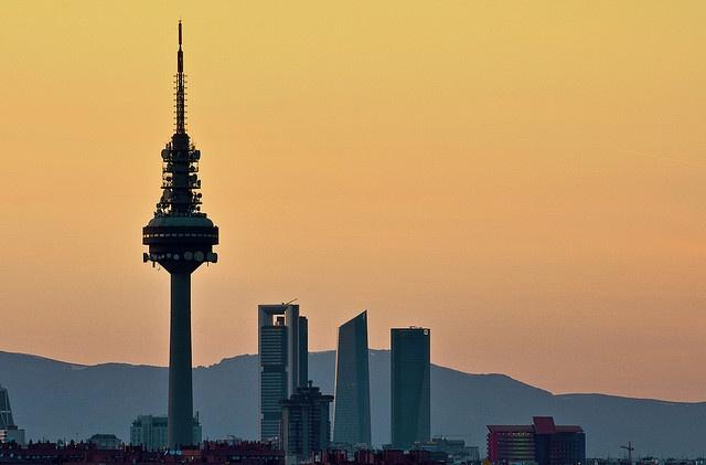 El Pirulí, Skyline de Madrid