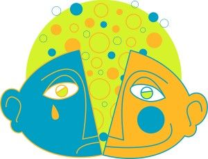 Bipolar Disorder in Teens Clip Art