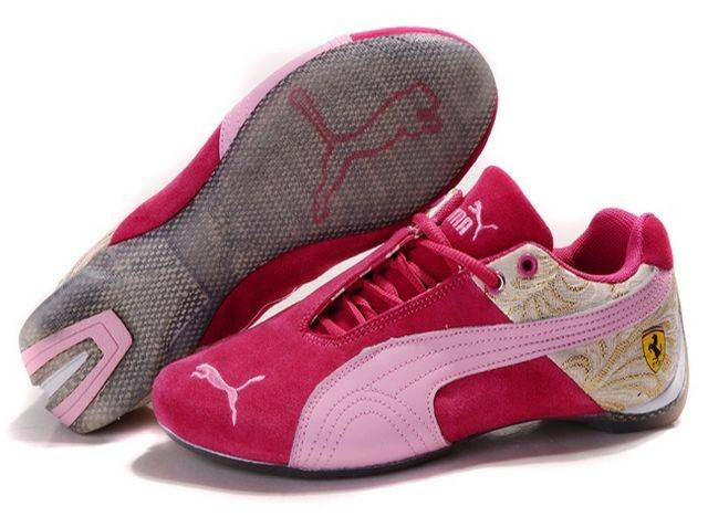 Shop Womens Puma Future Cat Ferrari Deep Pink Gold Shoes Top Deals black,  grey, blue and ...