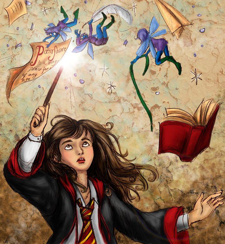 HP Hermione Collab by =Verlisaerys on deviantART