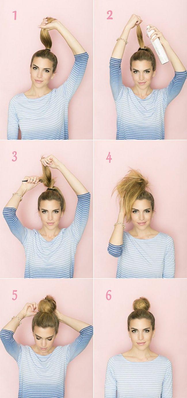 10dicas para fazer penteados rápidos