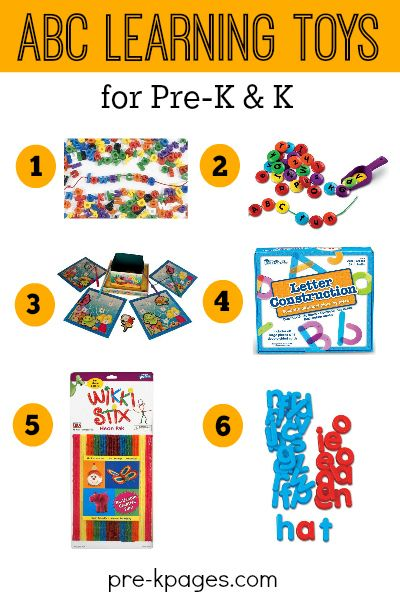 Best Toys for Learning the Alphabet in Preschool and Kindergarten. Use Hands-On Toys to Make Learning the ABCs FUN and Engaging!