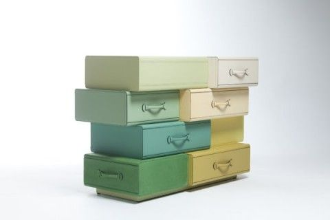 Chest of Suitcases by Maarten De Ceulaer for Nilufar | Ozarts Etc