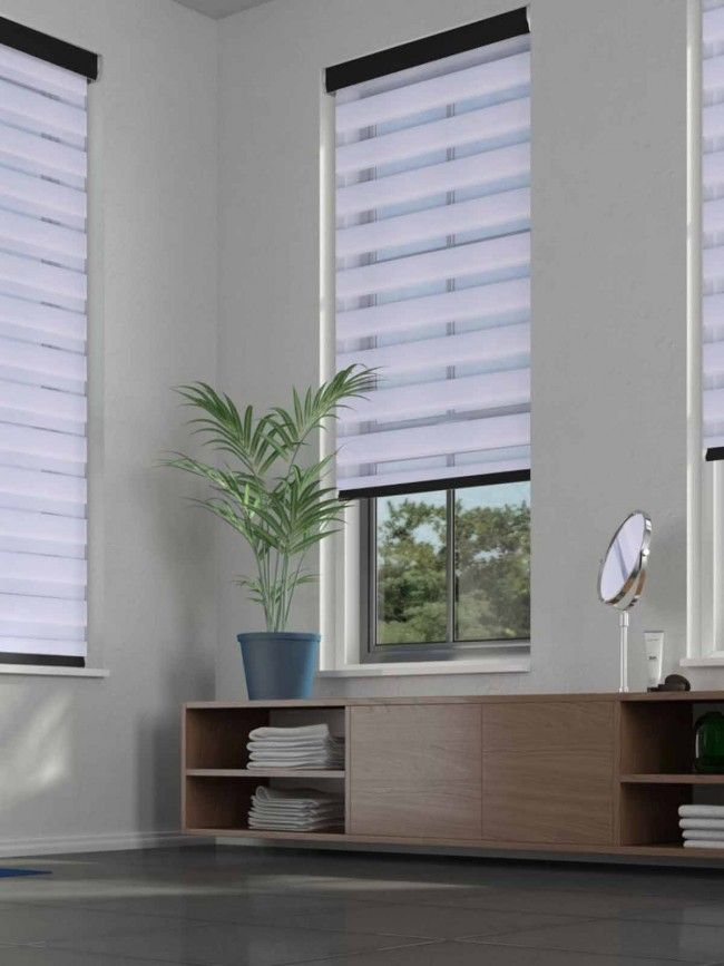 Duo Roller Serenity Frost Blind