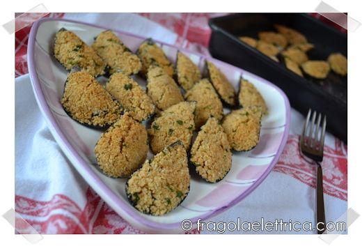COZZE GRATINATE fragolaelettrica.com Le ricette di Ennio Zaccariello #Ricetta