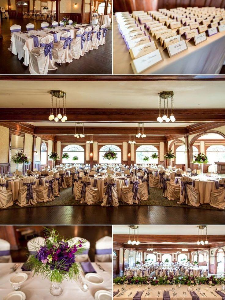 Indoor WeddingReception Venue MacGregor Room at