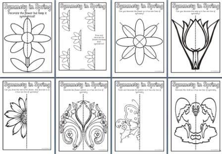 Teaching Symmetry to Kindergarten Kids