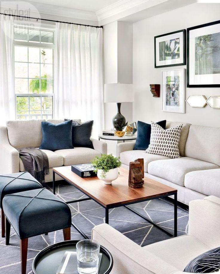 Schöne 40 gemütliche Wohnzimmer Designs für kleine Räume gurudecor ...