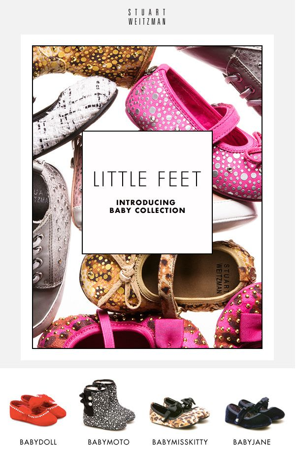 little feet - shoes for baby girls