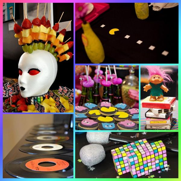 Las 25 mejores ideas sobre decoraciones de fiesta de los for Decoracion 70 s