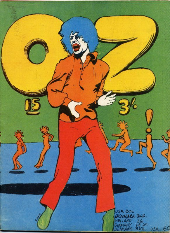 OZ magazine issue 15