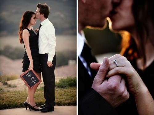 Cómo escoger la fecha de la boda - Foto Brightwood Photography en Stylemepretty.com
