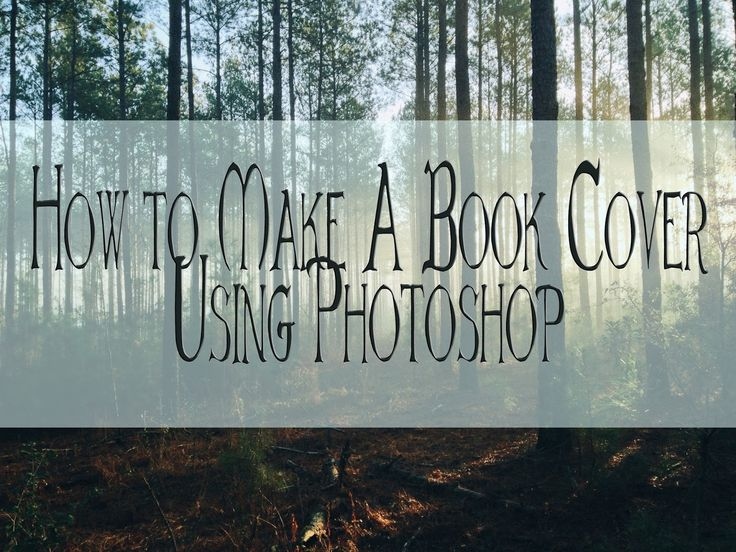 how to create a book cover render photoshop