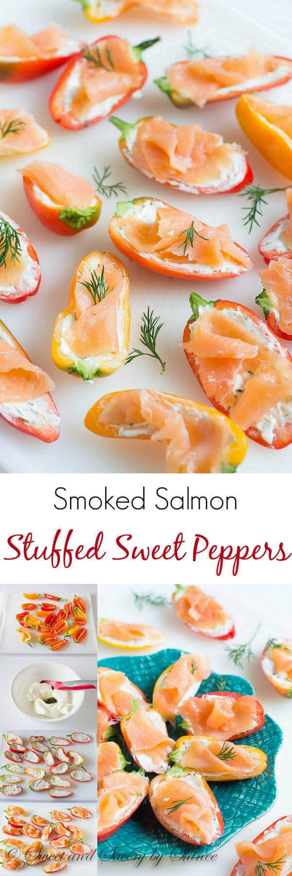 Irresistibly Crunchy, Creamy And Smoky, These Adorable Smoked Salmon  Stuffed Sweet Peppers Are Laughably