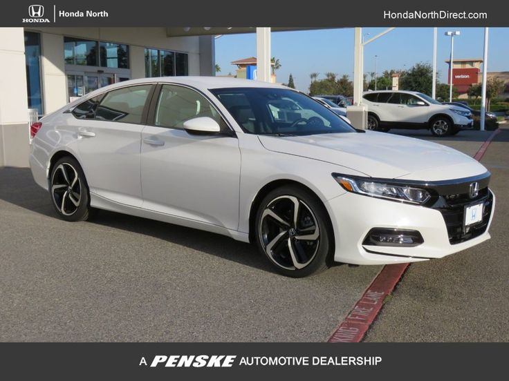 2020 Honda Accord Sport White. Feels free to follow us in