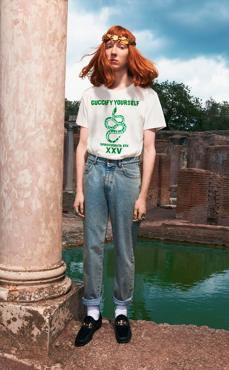 Alessandro Michele unveiled his Resort 2018 collection for Gucci. Shop Gucci HERE!